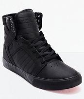 Supra Skytop Red Carpet Edition Muska Tuf Black Skate Shoes