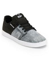 Supra TK Stacks Ballistic Static & Black Skate Shoe
