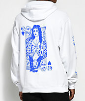 Swallows & Daggers x Rose Whittaker Queen White Hoodie