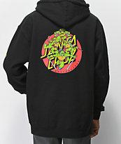 TMNT x Santa Cruz Turtle Power Black Hoodie