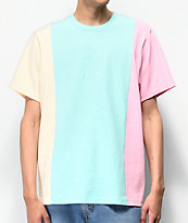 Teddy Fresh Pastel Colorblock T-Shirt