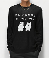 Teddy Fresh Revenge Of The Ted Black Sweater