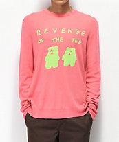 Teddy Fresh Revenge Of The Ted suéter rosa