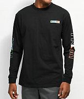 Teddy Fresh Tones camiseta negra de manga larga