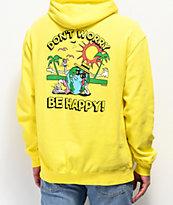 Teenage Don't Worry Yellow Hoodie