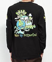 Teenage Wake Of Destruction Black Long Sleeve T-Shirt