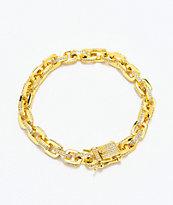 The Gold Gods 5mm Hermes Link Gold Bracelet
