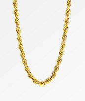 """The Gold Gods Rope Chain 28""""  Necklace"""