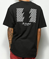 The Hundreds Checkered Flag Black T-Shirt