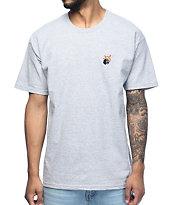 The Hundreds Crest Adam Athletic Heather Grey T-Shirt