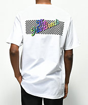 The Hundreds Line Slant camiseta blanca