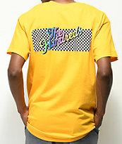 The Hundreds Line Slant camiseta dorada