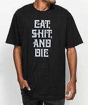 The Hundreds Motions Black T-Shirt