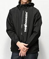 The Hundreds State Black Anorak Jacket