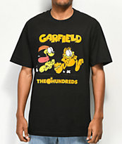 The Hundreds x Garfield Chase Black T-Shirt
