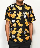 The Hundreds x Garfield Mood Black T-Shirt