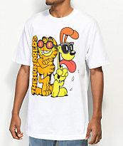 The Hundreds x Garfield Odie White T-Shirt