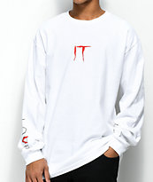 The Hundreds x IT Cast White Long Sleeve T-Shirt