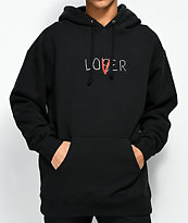 The Hundreds x IT Lover Black Hoodie