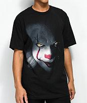 The Hundreds x IT Pennywise camiseta negra