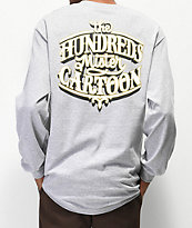 The Hundreds x Mr. Cartoon Impala Grey Long Sleeve T-Shirt