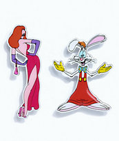 The Hundreds x Roger Rabbit 2 Pack Pin Set