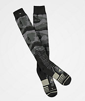 ThirtyTwo Tactical ASI Black Camo Snowboard Socks