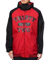 Thirtytwo Bradshaw Sesh Red 8K Snowboard Jacket