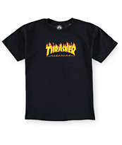Thrasher Boys Flame Logo T-Shirt