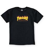 Thrasher Flame Logo camiseta (niño)