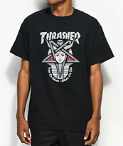 Thrasher Goddess camiseta negra