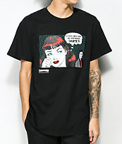 Thrasher New Boyfriend camiseta negra