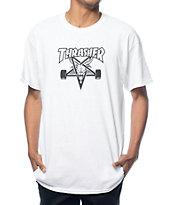 Thrasher Skategoat White T-Shirt