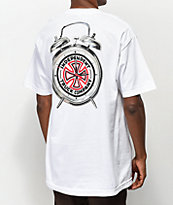 Thrasher x Independent Time To Go camiseta blanca