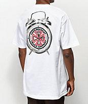 Thrasher x Independent Time To Go camiseta blanca