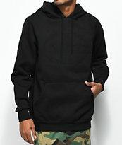 Traplord Tonal sudadera negra con capucha