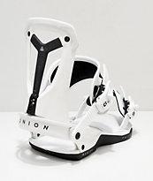 Union Falcor 2019 fijaciones de snowboard en blanco