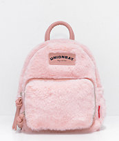 Unionbay Blush Fur Mini Backpack