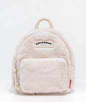Unionbay Bone Fur Mini Backpack