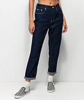 Unionbay Julianne Blue Rinse Mom Jeans