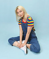Unionbay Siouxsie Archive Blue Overalls
