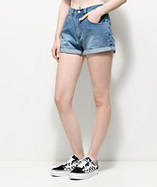 Unionbay Vintage Medium Wash Denim Shorts