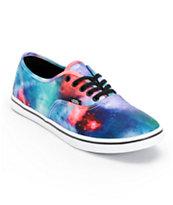 Vans Authentic Lo Pro Cosmic Galaxy Print Shoe