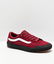 Vans Berle Pro Rumba Red & Black Skate Shoes