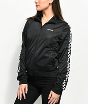 Vans Black & White Checker Track Jacket