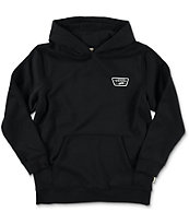 Vans Boys Full Patched Black Pullover Hoodie  0a6165b7a