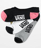 Vans Canoodle Eat Feelings 3 Pack No Show Socks