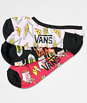 Vans Canoodle Take Out 3 Pack No Show Socks