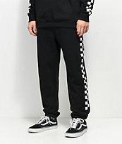 Vans Check Black & White Sweatpants