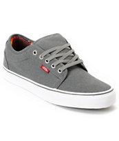 Vans Chukka Low Mexican Blanket Grey Canvas Skate Shoe